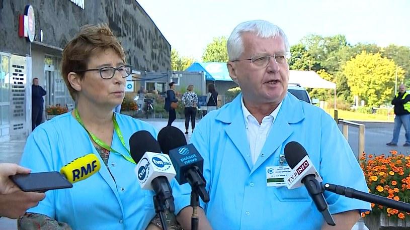 Lekarze z Centrum Zdrowia Dziecka w Warszawie /Polsat News /Polsat News