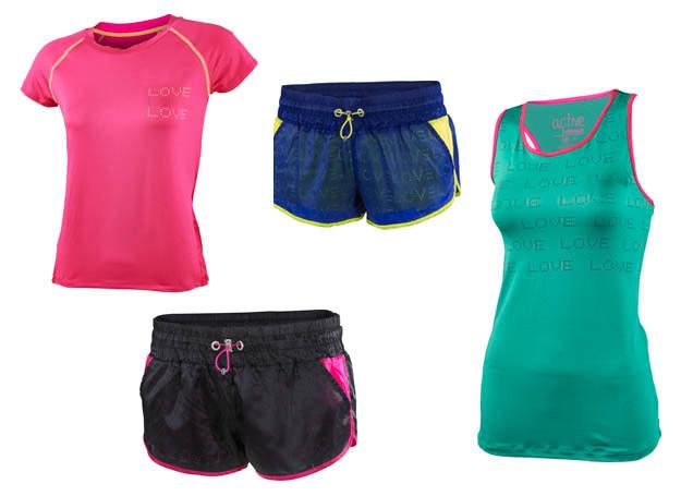 Lekki i przewiewny, dwuczęściowy strój do biegania idealnie sprawdzi się zarówno w miejskiej dżungli, jak i podczas porannego joggingu na plaży /materiały prasowe /materiały prasowe