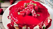Lekki torcik z owocami