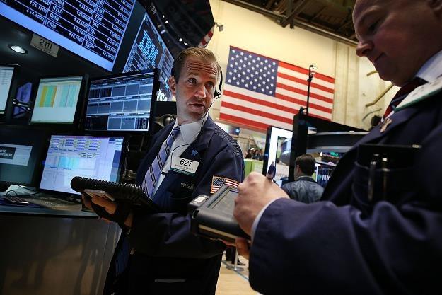 Lekkie spadki na Wall Street, Fed nie sprawił niespodzianki /AFP