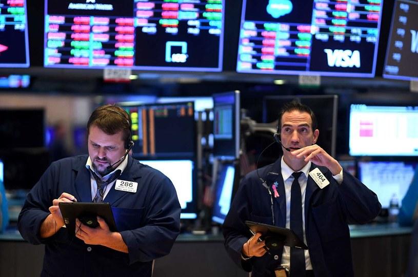 Lekkie spadki na Wall Street /AFP