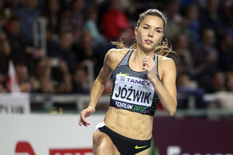 Lekkoatletka Joanna Jóźwik /Fot. Artur Podlewski /Newspix