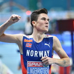 Lekkoatletyczne HME. Jakob Ingebrigtsen wygrał bieg na 3000 m
