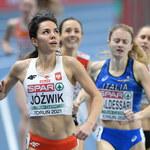 Lekkoatletyczne HME: Jóźwik i Cichocka w finale biegu na 800 m