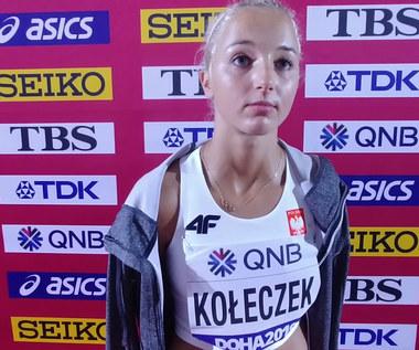 """Lekkoatletyczne MŚ. Karolina Kołeczek: """"Celem jest każdy kolejny bieg"""". Wideo"""