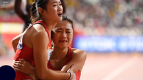 Lekkoatletyczne MŚ. Kuriozalna sytuacja podczas sztafety kobiet. Chinki zagubione na bieżni. Wideo