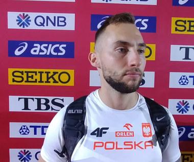 Lekkoatletyczne MŚ. Marcin Krukowski zażenowany swoim występem. Wideo