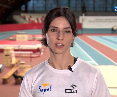 Lekkoatletyka. Anna Kiełbasińska: W trakcie pandemii obeszło się bez tarć z partnerem (POLSAT SPORT). WIDEO