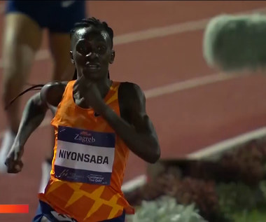 Lekkoatletyka. Francine Niyonsaba pobiła rekord świata (POLSAT SPORT). Wideo