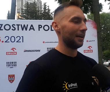 Lekkoatletyka. Marcin Krukowski: Nigdy nie celuję w wynik podczas startów. Wideo
