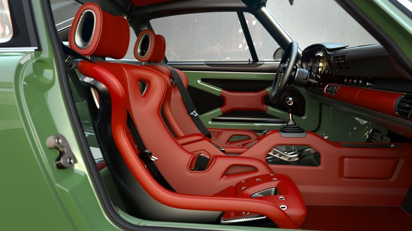 Lekkość wnętrza widać na pierwszy rzut oka /Singer Vehicle Design /materiały prasowe