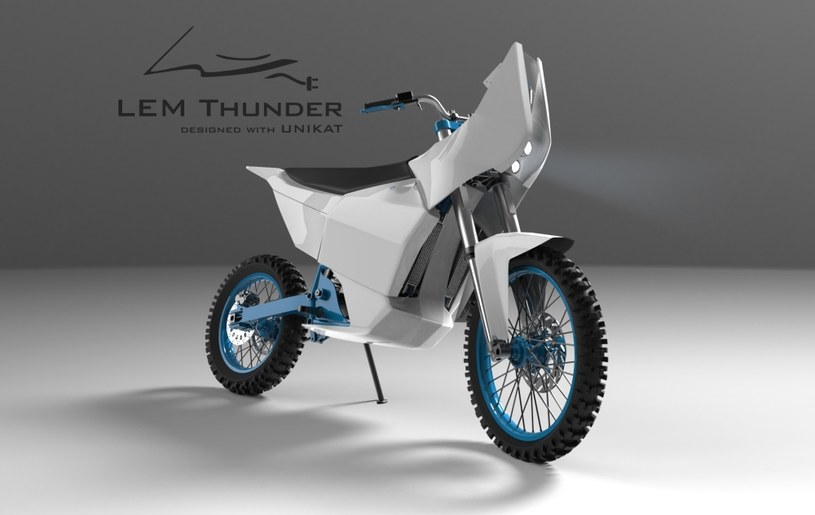 LEM Thunder - elektryczny motocykl /materiały prasowe