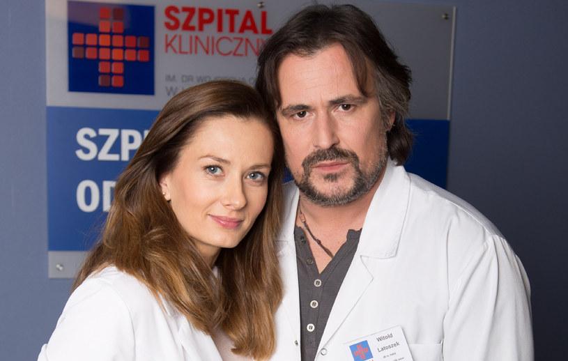 Lena (Anita Sokołowska), Witek (Bartosz Opania). /Agencja W. Impact