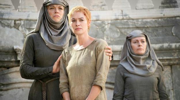 """Lena Headey (Cersei Lannister) w finałowym odcinku 5. sezonu """"Gry o tron"""" /HBO"""