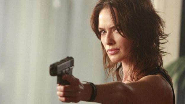 """Lena Headey, odtwórczyni głównej roli w serialu """"Terminator: Kroniki Sary Connor"""" /materiały prasowe"""