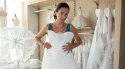 Lena w sukni ślubnej!