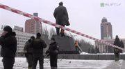 Lenin stracił stopę. Podłożyli trotyl pod pomnik Wodza Rewolucji