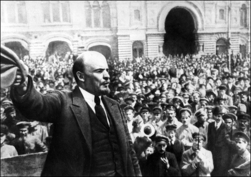 Lenin w Moskwie, 1917 /AFP
