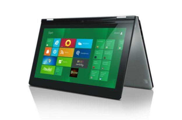 Lenovo IdeaPad Yoga będzie jednym z pierwszych urządzeń z Windowsem 8 /INTERIA.PL