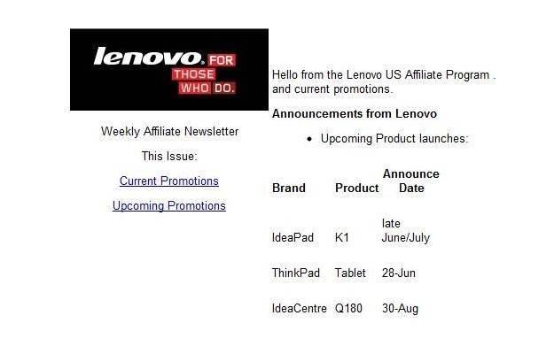 Lenovo przygotowuje swoje tablety? Wszystko na to wskazuje /tabletowo.pl