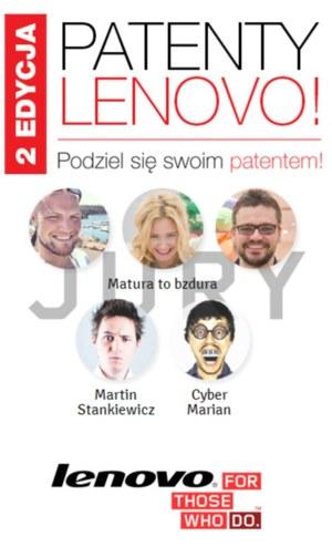 Lenovo szuka patentów na naukę