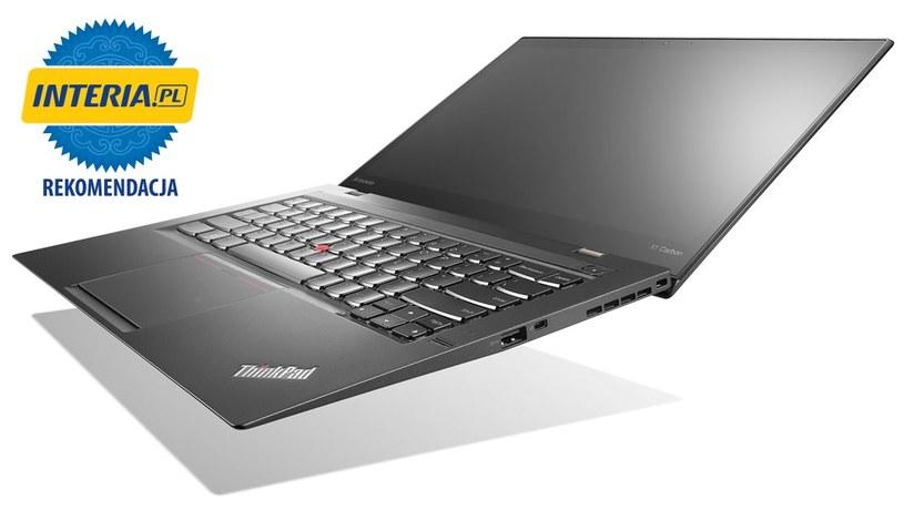 Lenovo ThinkPad X1 Carbon 2. generacji otrzymuje Rekomendację serwisu Nowe Technologie Interia.pl /INTERIA.PL