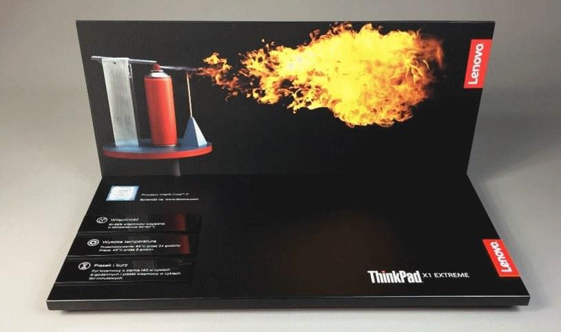 Lenovo ThinkPad X1 Extreme /materiały prasowe