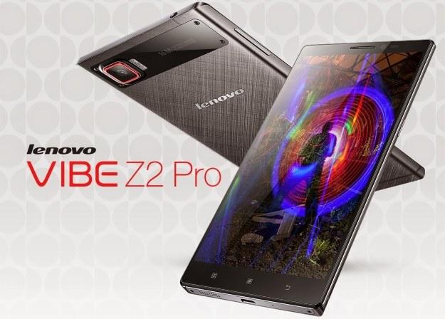 Lenovo Vibe Z2 Pro /materiały prasowe
