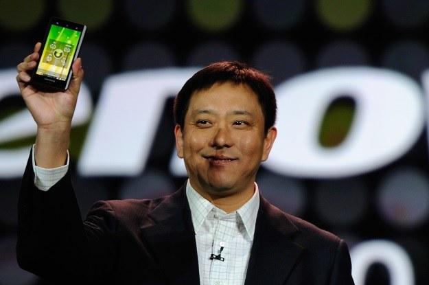 Lenovo w końcu podbije europejski rynek smartfonów /AFP