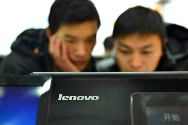 Lenovo wciąz liderem w segmencie komputerów, ale coraz lepiej spisuje się także w branży mobilnej /AFP