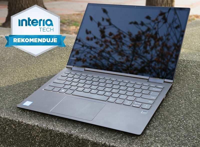 Lenovo Yoga 730  otrzymuje REKOMENDACJĘ serwisu Nowe Technologie Interia /INTERIA.PL