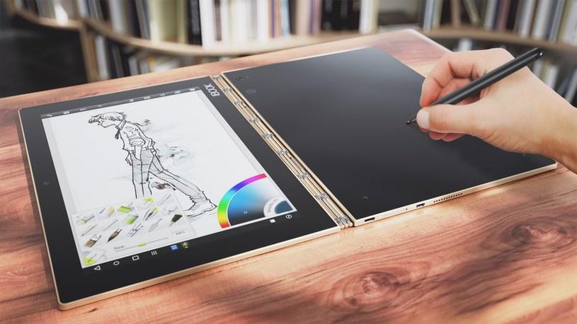 Lenovo Yoga Book /materiały prasowe