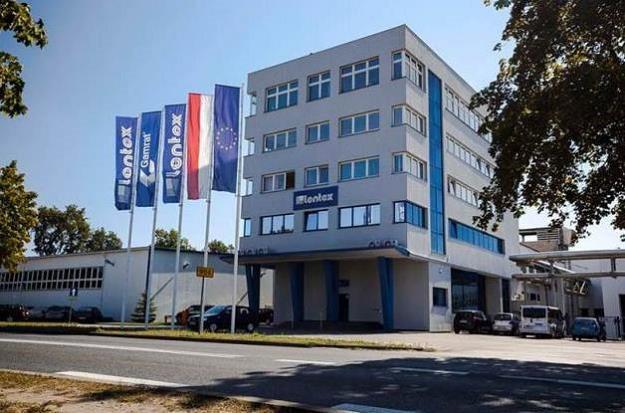 Lentex - siedziba spółki w Lublińcu /Informacja prasowa