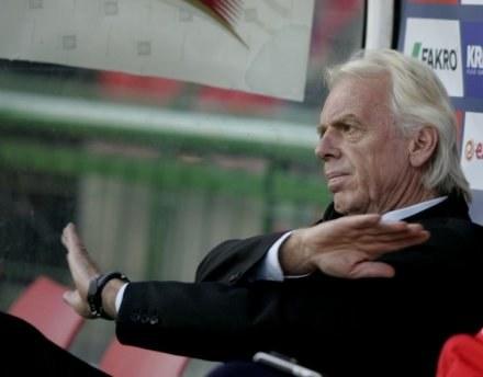 Leo Beenhakker nie chce zmarnować ani dnia, bo Euro się zbliża. FOT. J. Kleszcz. /Agencja Przegląd Sportowy