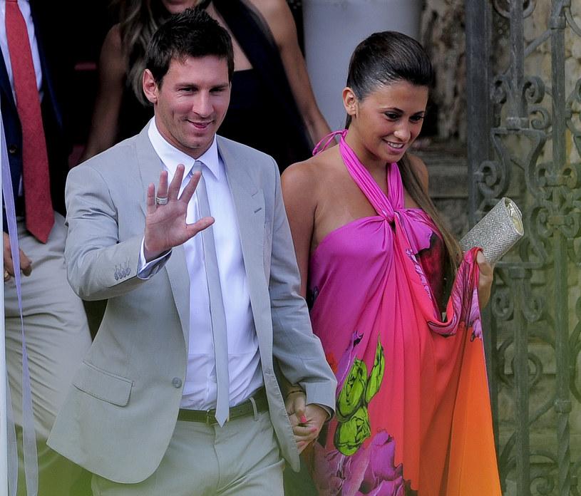 Leo Messi i Antonella Roccuzzo /AFP