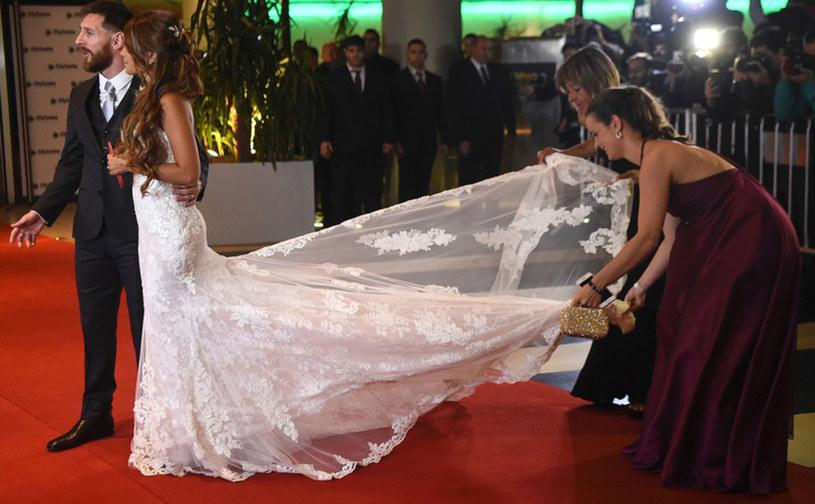 Leo Messi i Antonella wzięli ślub /East News