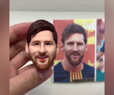 Leo Messi i Kobe Bryant z plasteliny. Niesamowite miniaturowe rzeźby. Wideo
