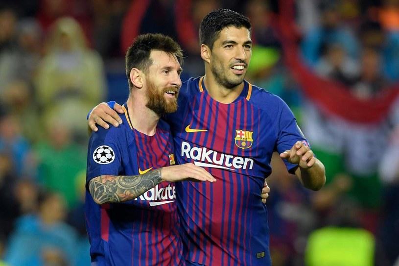 Leo Messi i Luis Suarez /AFP