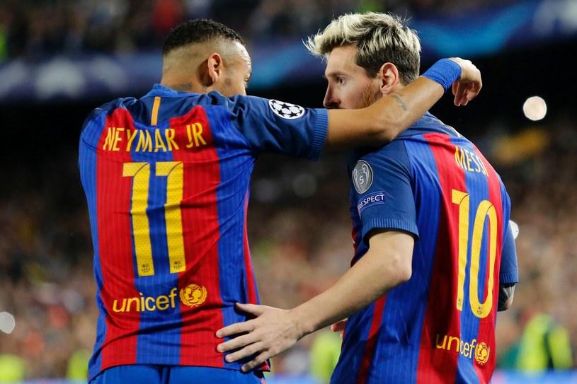 Leo Messi i Neymar rozstrzelali Manchester City /AFP