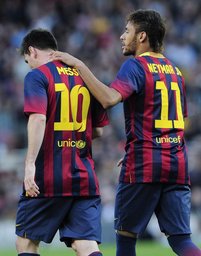 Leo Messi i Neymar w barwach FC Barcelona /AFP