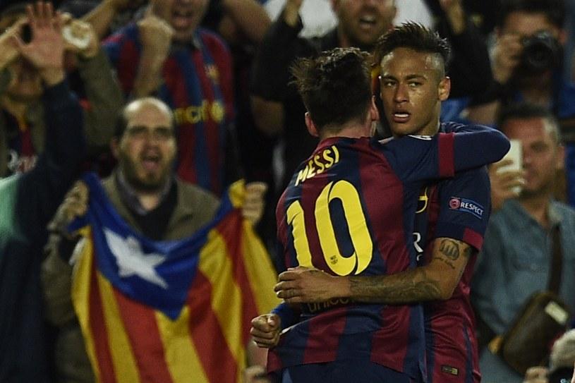 Leo Messi i Neymar w końcówce meczu załatwili Bayern Monachium /AFP