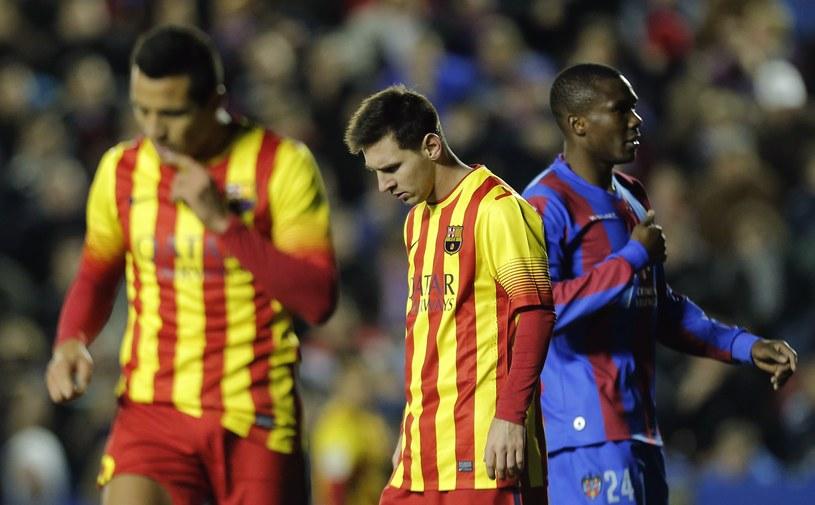 Leo Messi miewał już lepsze mecze niż ten z Levante /AFP