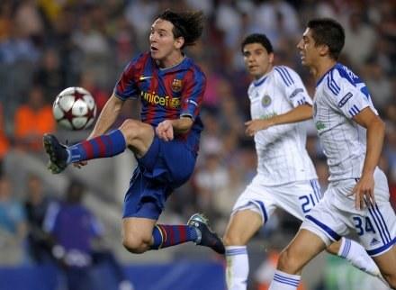 Leo Messi może nie zagrać na MŚ w RPA /AFP