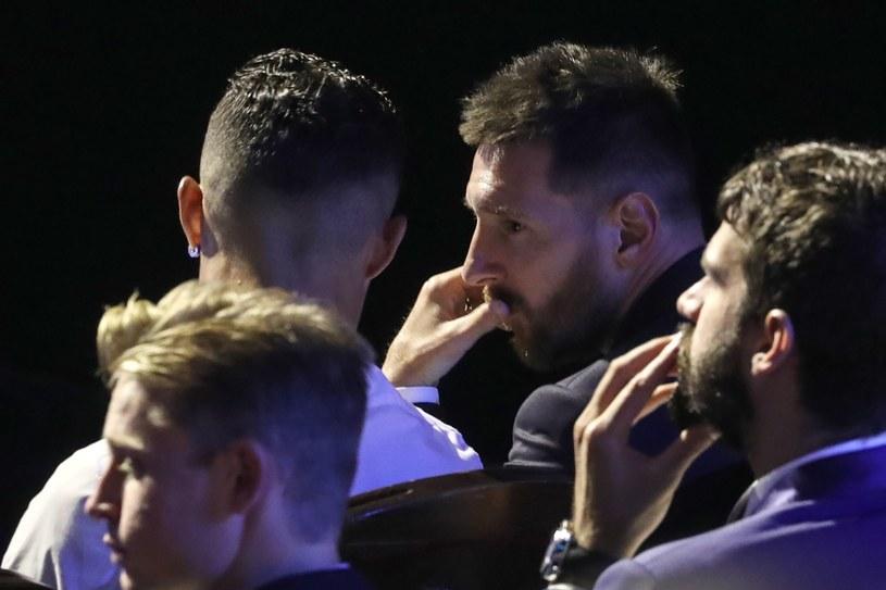 Leo Messi na ostatniej gali UEFA /AFP