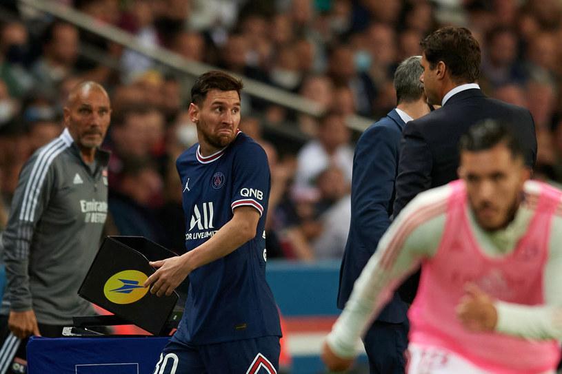 Leo Messi nie podał ręki trenerowi, schodząc z boiska /Jose Breton/Pics Action/NurPhoto /Getty Images