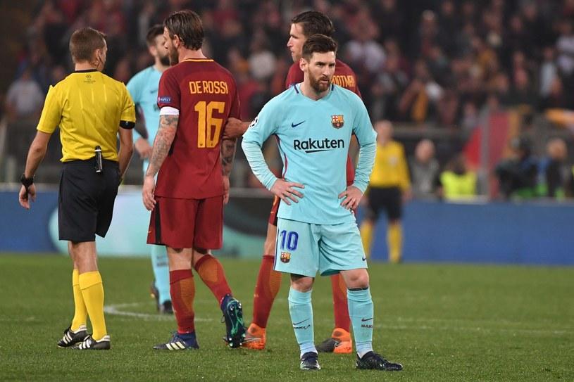 Leo Messi po raz kolejny nie strzelił żadnego gola w ćwierćfinale Ligi Mistrzów /AFP