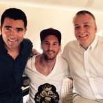Leo Messi poleciał do Gabonu