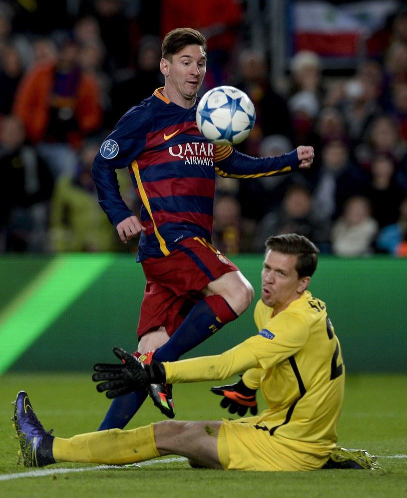 Leo Messi strzelił Wojciechowi Szczęsnemu dwie bramki /AFP