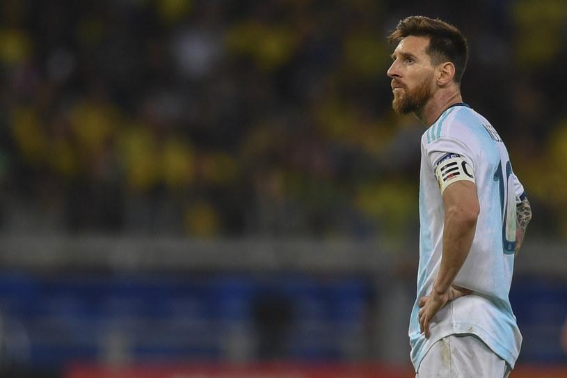 Leo Messi. To jego kolejne niepowodzenie w reprezentacji /AFP