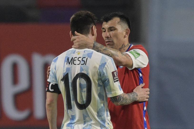 Leo Messi w meczu Argentyna - Chile /JUAN MABROMATA/AFP /AFP/INTERIA.PL